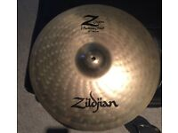 Zildjian Custom Z Custom Crash Medium 16inch/40cm Drum Cymbal