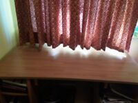 Office desk and chair - excellent condition