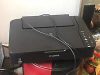 Black canon printer