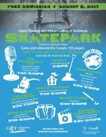 Rockwood Skatepark Grand Opening and Community Party