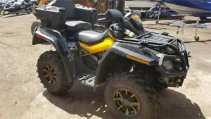 VERY CLEAN CAN AM XT-P WITH ONLY 2500 ORIGINAL KMS, SUMMER READY