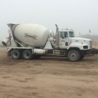 Ready Mix Concrete Truck Driver