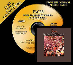 Faces/ Nod is as good as a wink. Gold CD used