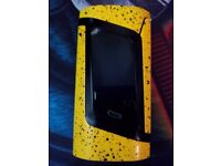 LIMITED EDITION - SMOK Alien mod Yellow with Black Splatter (No longer available) Vaping mod