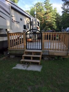Deck and rails for sale