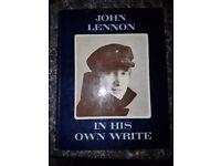 FIRST EDITION JOHN LENNON BOOK.
