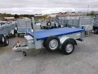 General purpose Trailer with jockey wheel lock prop stand waterproof cover toolbox spare wheel