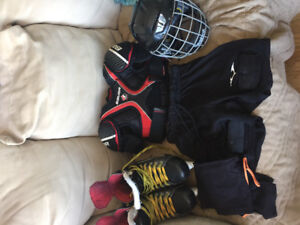 Hockey equiptment