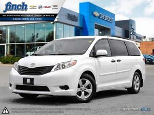 2014 Toyota Sienna L CLOTH DUAL ZONE CLIMATE CONTROL TOW PKGE
