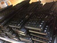 50 X Job lot of mixed USB keyboards: Dell, Hp and Logic 100% Tested as Working