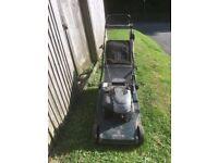 Hayter 48 lawnmower roller 16 inch self propelled electric start