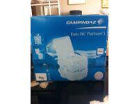 Camping gaz euro portable toilet NEW in box