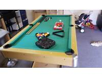 6x3 Pool table