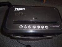 Texet electric paper shredder