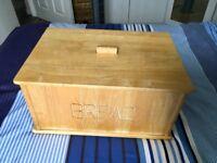 Pine bread bin.