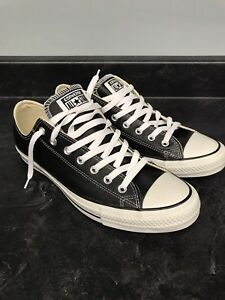 Converse Chuck Taylor All Star Low Leather Black
