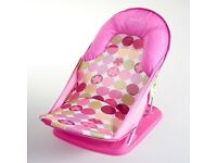summer infant delux baby bather pink