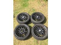 BMW MV1 Alloy Wheels 18' Staggered