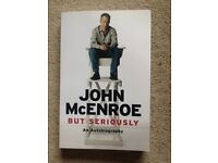 John McEnroe But Seriously Autobiography