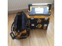 "Dewalt tstak & open mouth bag 20"" pro"