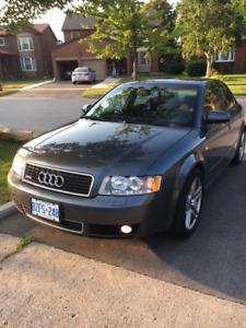 2003 Audi A4 Grey Sedan $4500