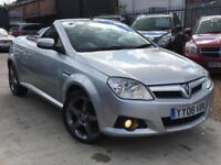 VAUXHALL TIGRA 1.4 EXCLUSIV 16V RED EDITION CONVERTIBLE Manual 2008 (08)