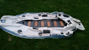 2 inflatable boats plus misc items