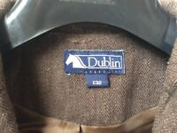 Lovely Dublin brown Tweed Show Jacket Size C32