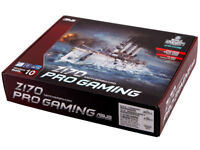 PC Asus Z170 Pro Gaming Motherboard Never Used/Opened