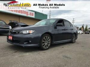 2010 Subaru Impreza WRX $161.25 BI WEEKLY! $0 DOWN! SEDAN! WRX!