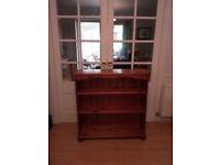 Ducal Pine Victoria free standing bookshelf