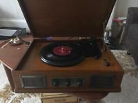 Traditional record player