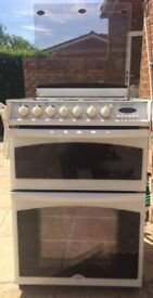 Beko Dual Fuel Double Oven Gas and Electric Cooker *Excellent Condition*