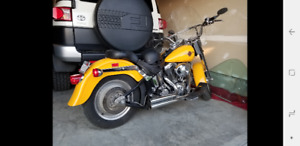 2000 Harley fat boy millennium edition.