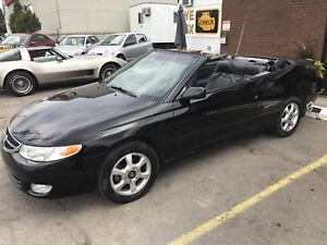 2001 TOYOTA CAMRY SOLARA CONVERTIBLE AUTOMATIC INEXPENSIVE FUN