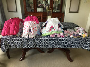 Baby Girl Clothes 0-9mths