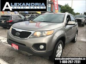 2011 Kia Sorento LX 4Cyl safety includes