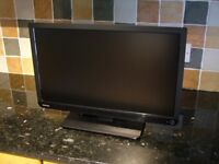 "TOSHIBA 22"" LED TV with FREEVIEW SAORVIEW HDMI USB etc."