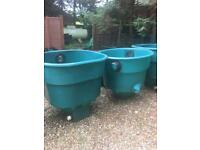 Pond filtration tanks