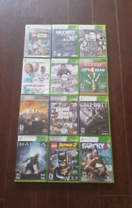 12 Xbox 360 Games + In Perfect Condition!