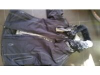 Bike jacket womens Richa full padded arms and back