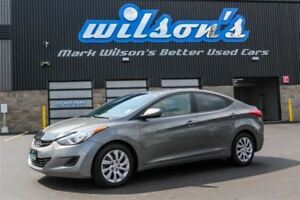 2013 Hyundai Elantra GLS $39/WK, 4.74% ZERO DOWN! HEATED SEATS!