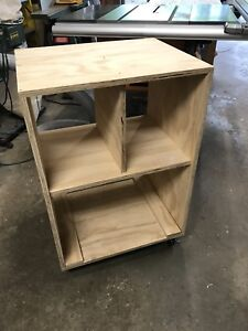 """Portable Tool Cart - 2.5"""" Casters, 36"""" tall, 24"""" wide, 19"""" deep"""