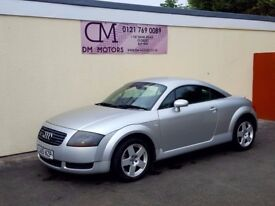 2001 AUDI TT 1.8 TURBO QUATTRO NATIONWIDE DELIVERY CARD FACILITY WARRANTY PART EX AVAILABLE