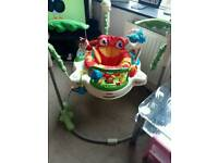 Fisher price rainforest jumperoo baby toy