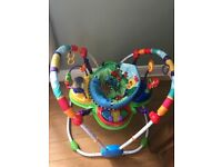 Baby Einstein jumper - hardly used. In excellent condition. smoke free clean home. Collection only