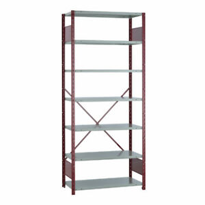 """USED 36""""W BOLTED OPEN SHELVING"""
