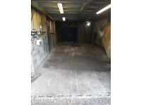 Barn Workshop Garage Inside Parking 30ft x 15ft Tring Area Light and Power with Concrete Floor