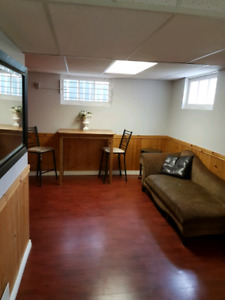 Renovated brightly lit whyte ave basement suite. Pet friendly!