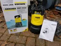 Karcher submersible pump